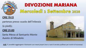 Camminata vs il Monte Aureto – Miradolo (DEVOZIONE MARIANA) @ Scuola dell'infanzia Graffignana vs Monte Aureto - Miradolo