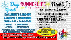 Summerlife Night - Partite Organizzate @ Oratorio San Giovanni Bosco di Graffignana