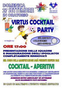 Virtus Cocktail Party (Presentazione delle Squadre, Inagurazione degli Spogliatoi Completamente Rinnovati e Aperitivo) @ Oratorio San Giovanni Bosco di Graffignana
